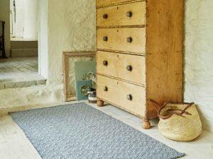 Provence Navy Weaver Green Rug